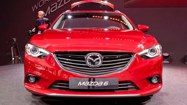 """مازدا اليابانية تقدم سيارة """"مازدا 6 2014″ بمحرك ديزل في """"الولايات المتحدة"""""""