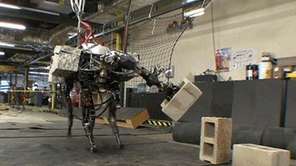 BigDog روبوت متطور رباعي الأرجل