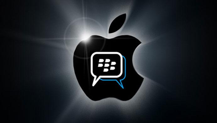 تطبيق BBM قادم لأجهزة أبل هذا الصيف