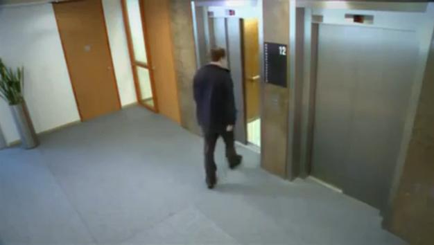 مقلب المصعد