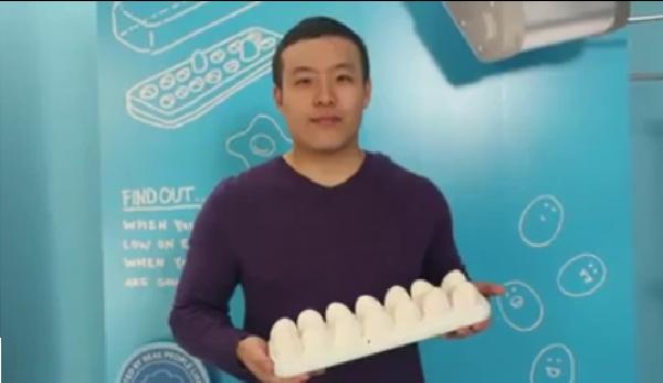 فيديو: جهاز يعمل على الايفون لسلق البيض
